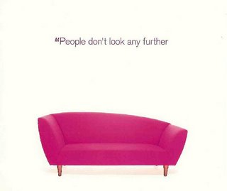 M People - Don't Look Any Further (single cover)